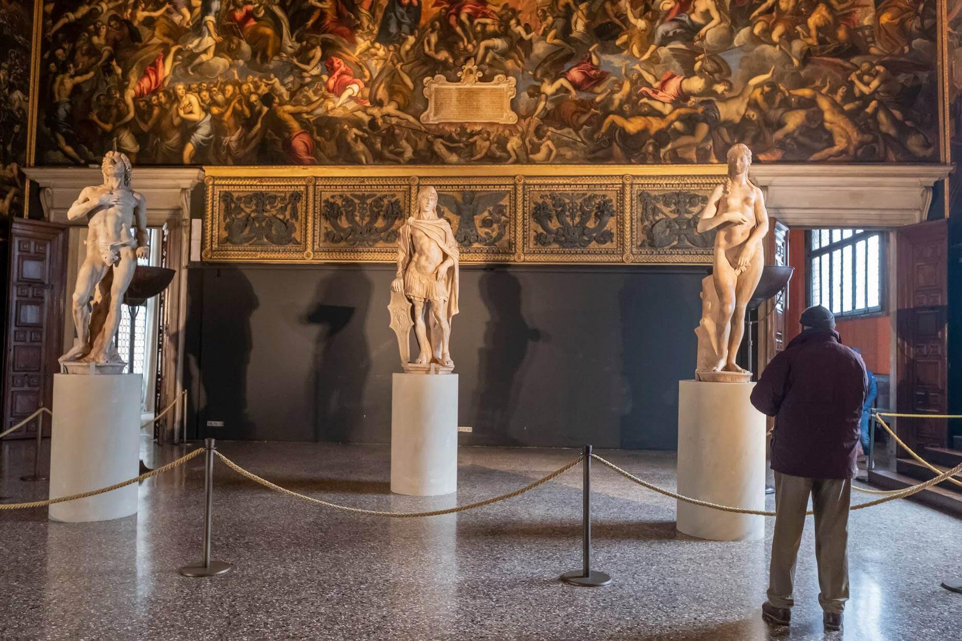 Antonio Rizzo's Adam and Eve