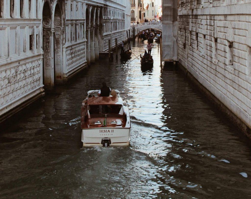 Taking a Gondola Ride